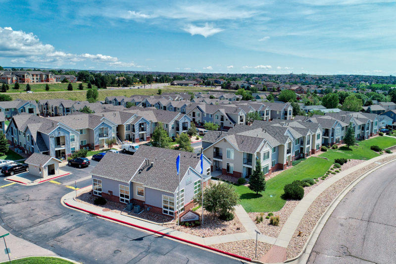Winfield Apartment Aerial Drone